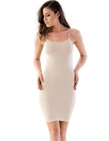 Λαστέξ Φόρεμα με Λεπτή Αποσπώμενη Τιράντα 5050 Lamoda.gr