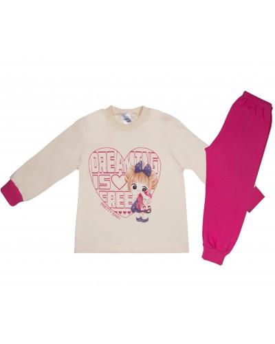 Βρεφική Πυτζάμα Βαμβακερή για Κορίτσια Pretty Baby 69169 Lamoda.gr