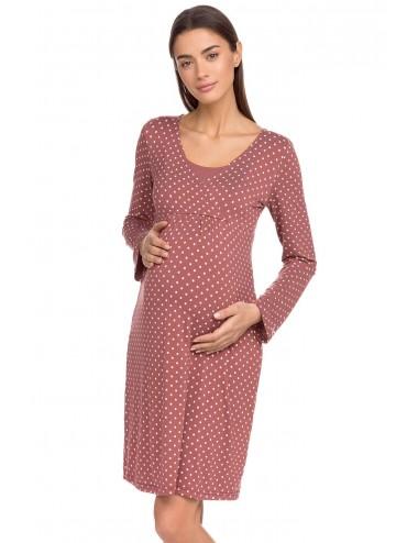 VAMP Γυναικείο Νυχτικό Εγκυμοσύνης Θηλασμού 15067 Lamoda.gr