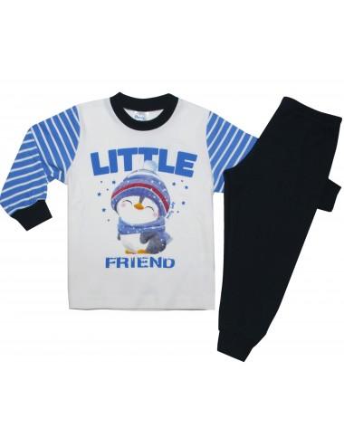 Pretty Baby Βρεφική Πιτζάμα Little Friend  68162 Lamoda.gr