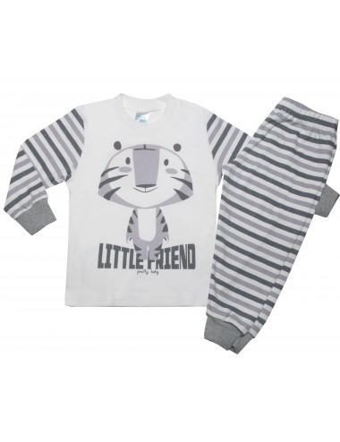 Pretty Baby Βρεφική Πυτζάμα Little Friend 68165 Lamoda.gr