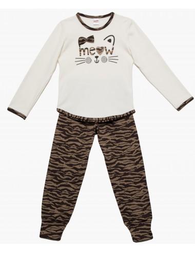 Minerva Παιδική Πυτζάμα για Meow Animal Κορίτσια 90-61891 Lamoda.gr