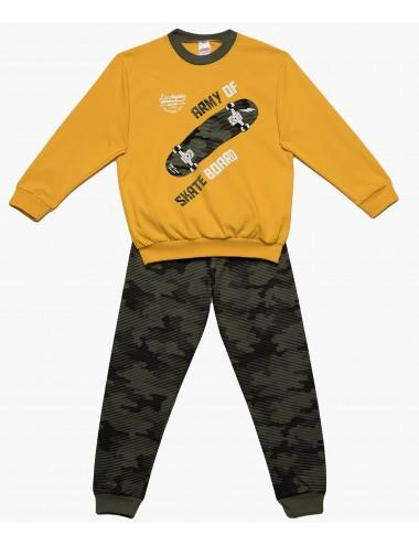Minervakia Παιδική Πυτζάμα Skateboard για Αγόρια 90-61906 Lamoda.gr