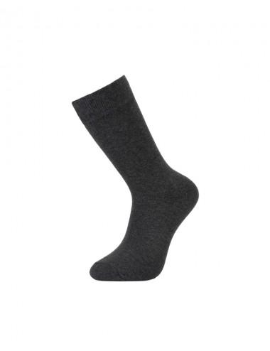 Ανδρικές βαμβακερές κάλτσες μονόχρωμες ψηλές