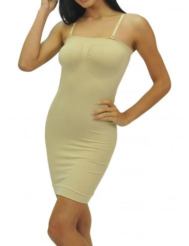Γυναικείο αόρατο φόρεμα κορσές Strapless με αποσπώμεες & ρυθμιζόμενες τιράντες