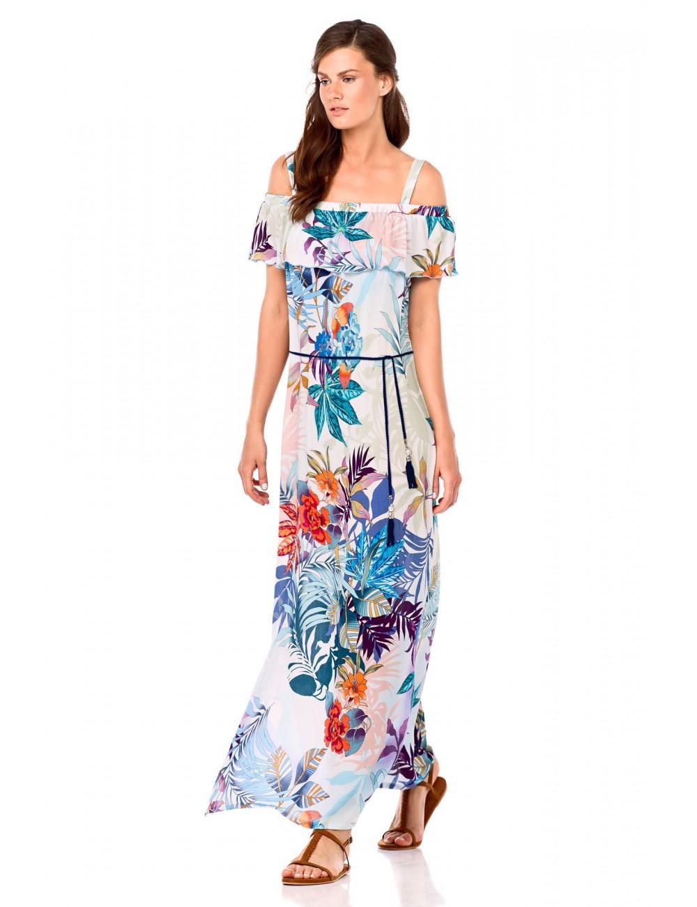 f7b582a44db1 Γυναικείο καλοκαιρινό φόρεμα maxi Vamp 6949