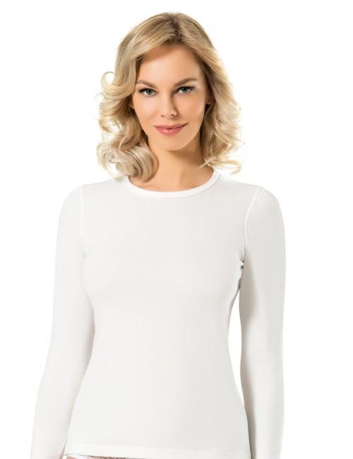 Γυναικεία Ισοθερμική Μπλούζα Μακρύ Μανίκι Στρογγυλή Λαιμόκοψη