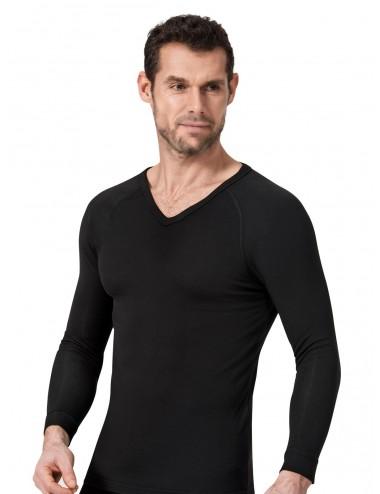 Ανδρική Ισοθερμική Μπλούζα  Αθλητική V Λαιμόκοψη