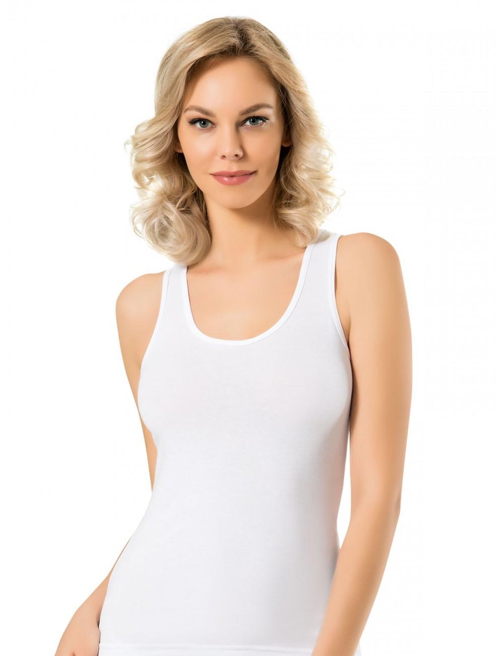 Γυναικείο αθλητικό μλουζάκι με χιαστή πλάτη Namaldi 289