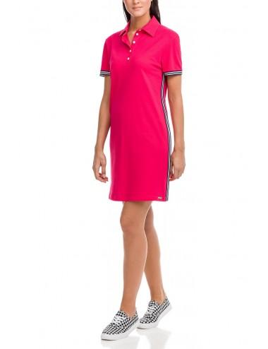 Κοντομάνικο φόρεμα παραλιας Vamp 12547