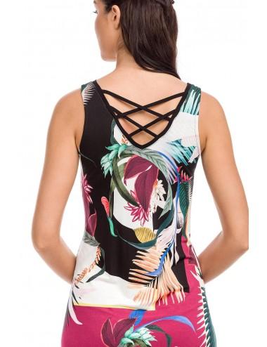 Γυναικείο καλοκαιρινό φόρεμα Viscose VAMP 12460
