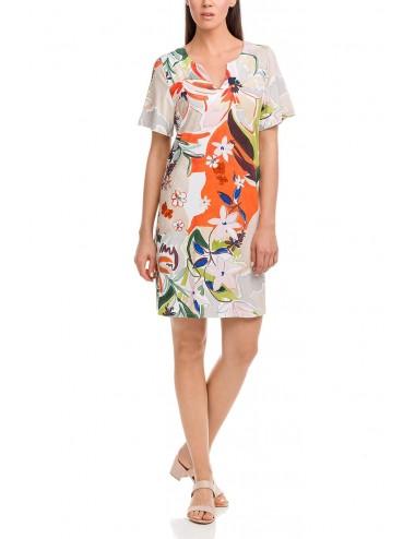 Φόρεμα παραλίας κοντό VAMP 12471