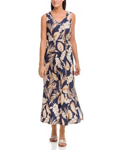 Καλοκαιρινό φόρεμα μακρύ VAMP 12477