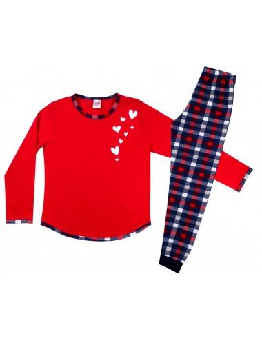 Παιδική Πυτζάμα Βαμβακερή για Κορίτσια Minerva 90-61735