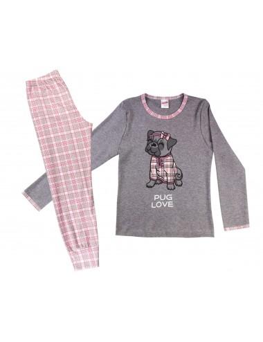 Παιδική Πυτζάμα Βαμβακερή για Κορίτσια Minerva 90-61731