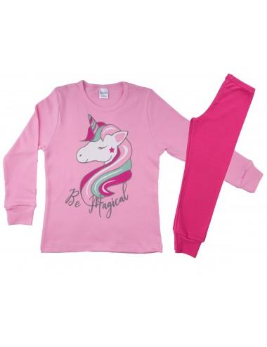 Παιδική -Εφηβική Πυτζάμα Βαμβακερή για Κορίτσια Pretty Baby 64969