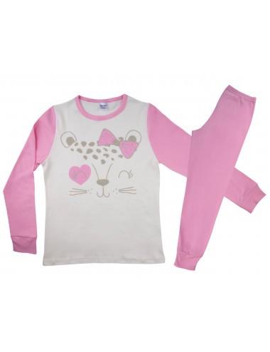 Παιδική -Εφηβική Πυτζάμα Βαμβακερή για Κορίτσια Pretty Baby 64968