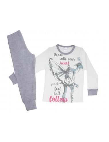 Pretty Baby Παιδική Πυτζάμα Βαμβακερή για Κορίτσια 64931 Lamoda.gr
