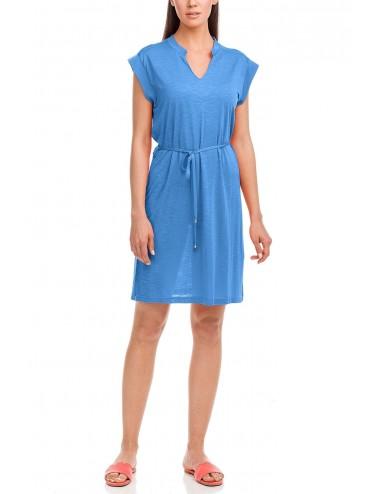 Vamp Φόρεμα Παραλίας Μονόχρωμο με Ζώνη 12511 Lamoda.gr