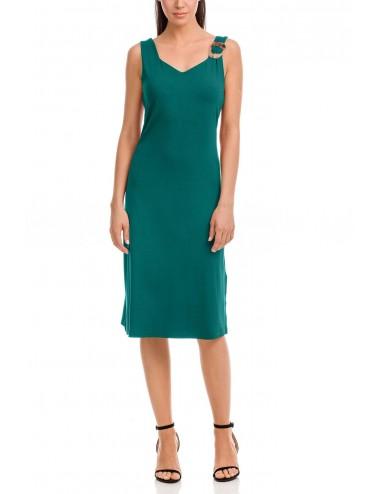 Καλοκαιρινό Φόρεμα με τιράντα Vamp 12565 Lamoda.gr