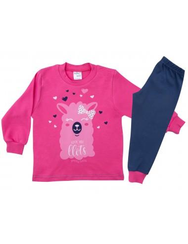 Βρεφική Πυτζάμα Βαμβακερή για Κορίτσια Pretty Baby 69151 Lamoda.gr