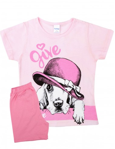 Pretty Baby Παιδική Πυτζάμα Καλοκαιρινή για Κορίτσια 63116 Lamoda.gr