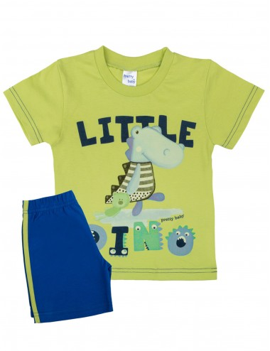 Βρεφική Πυτζάμα Καλοκαιρινή για Αγόρια Pretty Baby 65368 Lamoda.gr