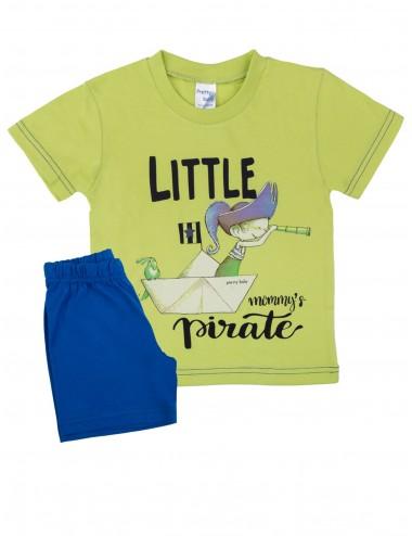 Pretty Baby Βρεφική Πυτζάμα Καλοκαιρινή για Αγόρια 65365 Lamoda.gr