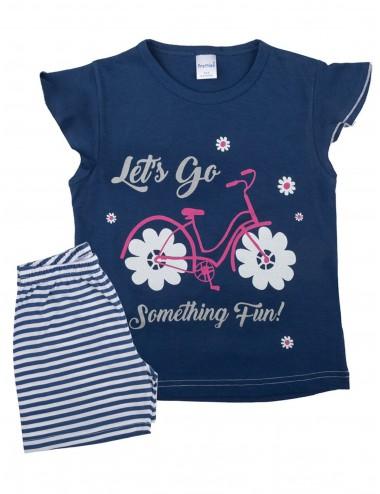 Pretty Baby Παιδική Πυτζάμα Καλοκαιρινή για Κορίτσια 63115 Lamoda.gr