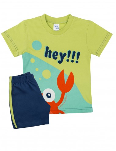 Pretty Baby Βρεφική Πυτζάμα Καλοκαιρινή για Αγόρια 65369 Lamoda.gr