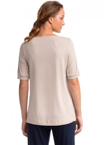 VAMP Γυναικεία Κοντομάνικη Μπλούζα Micro-Modal 14192