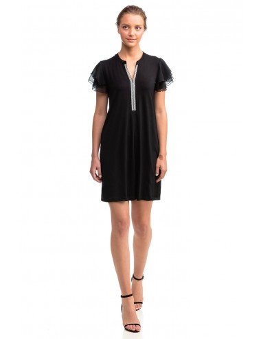 Vamp Καλοκαιρινό Φόρεμα Κοντομάνικο Viscose 14510 Lamoda.gr