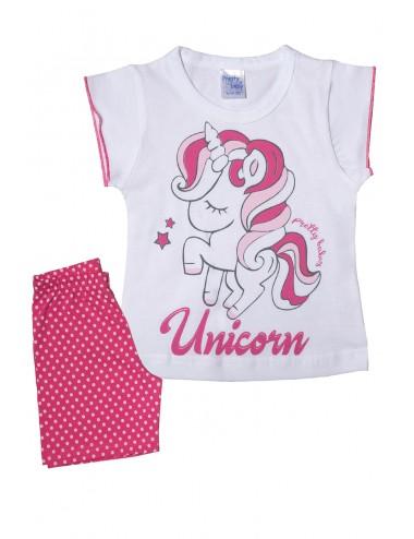Pretty Baby Βρεφική Πυτζάμα Καλοκαιρινή για Κορίτσια 65522 Lamoda.gr