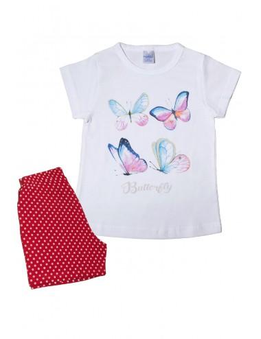 Pretty Baby Παιδική Πυτζάμα Καλοκαιρινή για Κορίτσια  63123 Lamoda.gr