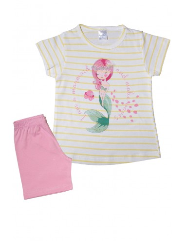 Pretty Baby Παιδική Πυτζάμα Καλοκαιρινή για Κορίτσια  63125 Lamoda.gr