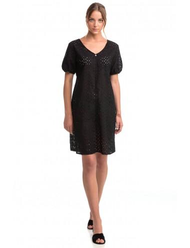 Vamp Μονόχρωμο Φόρεμα Παραλίας Ζακάρ 14424 Lamoda.gr