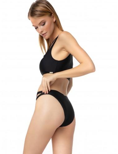 Minerva Γυναικείο Bikini Τοπ με Έναν Ώμο 90-9398B Lamoda.gr