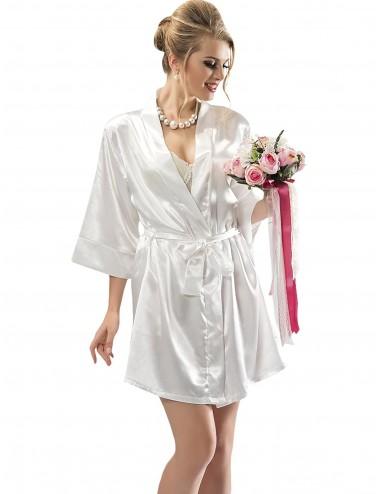 Νυφική Ρόμπα Σατέν Bride | Lamoda.gr