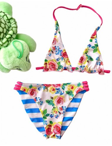 Tortue Παιδικό Μαγιό Bikini Διπλής Όψης S0-017-112 Lamoda.gr
