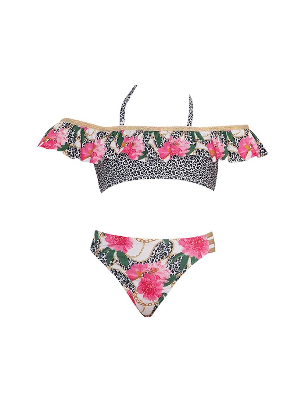 Tortue Παιδικό/ Εφηβικό Μαγιό Strapless Bikini S1-034-126 Lamoda.gr
